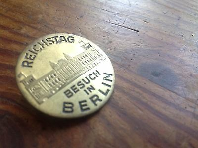 Original German Wwii Reichstag Rally In Berlin Badge