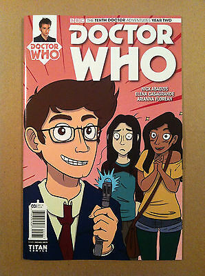 DOCTOR WHO 10th YEAR TWO #3 VARIANT COVER C RACHAEL SMITH NM 1ST PRINTING TITAN
