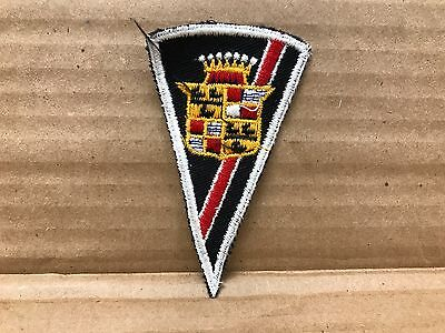 """Vintage Original 1950/60's Embroidered Cadillac Jacket Patch 3.5"""" X 2"""""""