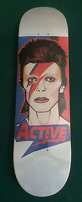 David Bowie Jean Genie Limited Skateboard Deck from Active Ride Shop Brand New