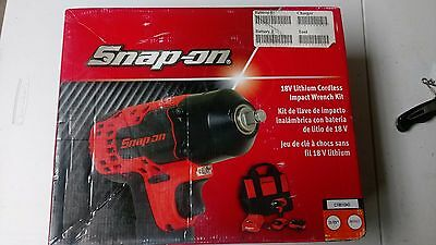 "SnapOn Impact Wrench Cordless, 18 V, MonsterLithium Battery, 3/8"" Drive CT8810AO"