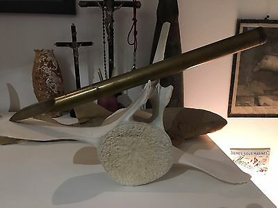 Early RARE Antique WHALE GUN INERT  HARPOON BOMB LANCE
