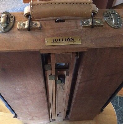 Vintage, Authentic Jullian Original French Easel, Made In France.