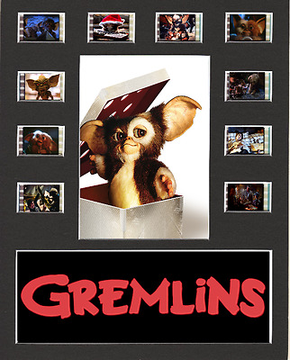 Gremlins replica Film Cell Presentation 10x8 Mounted 10 cells