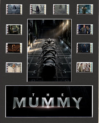The Mummy 2017 replica Film Cell Presentation 10x8 Mounted 10 cells