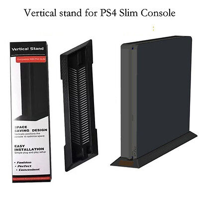 Vertical Stand base supporto verticale console Sony PlayStation 4 PS4 Slim Black