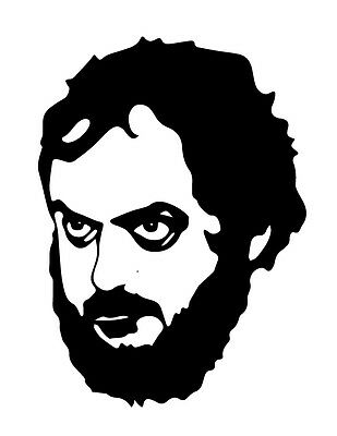 Stanley Kubrick viny decal sticker 2001 Clockwork Orange Full Metal Jacket