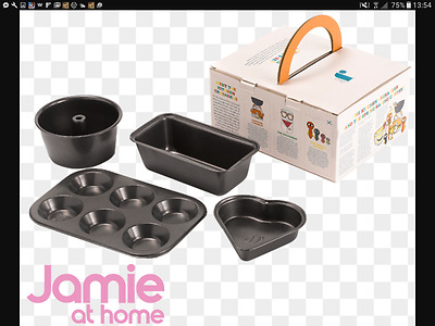Jamie Oliver JME Champion Bakers Set Kids Cooking New in Box