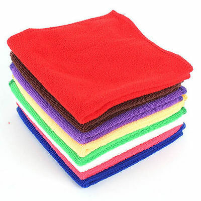 Multifunction Microfiber Kitchen Dish Towels Oil Water Wash Cloth 25*25cm