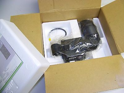 "NIB! Sony DXF-601 Quick Start 1.5"" Monochrome Pro Video Camera Viewfinder (14D)"