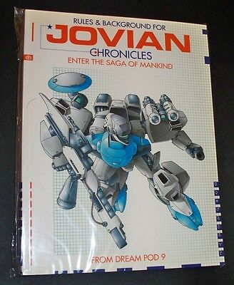 JOVIAN CHRONICLES RPG RULES & BACKGROUND: ENTER THE SAGA OF MANKIND Come nuovo