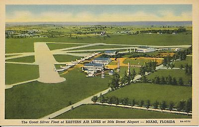 Eastern Airlines Fleet 36Th St. Airport, Miami,florida