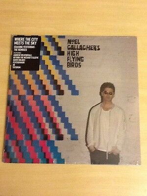 "Noel Gallagher-2X12"" Singles-Chasing Yesterday The Remixes-11 Tracks-M/sealed"