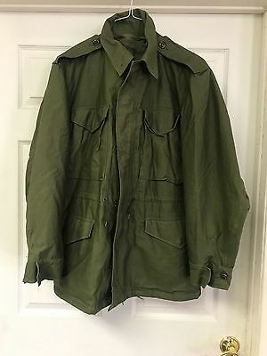 Korean War Vintage Army Officer M-1951 M-51 Field Jacket OG-107 - Never Worn WOW