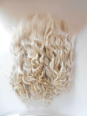 Mohair,doll hair,Goat curls for dolls, curls for doll hair, doll hair,goat locks