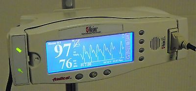 Masimo Radical 7 Rainbow Signal Extraction Pulse Oximeter with Portable Stand