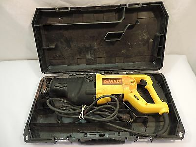 Dewalt Corded V.s. Reciprocating Saw With Case ..1 1/8 Stroke , Model # Dw311 ^^