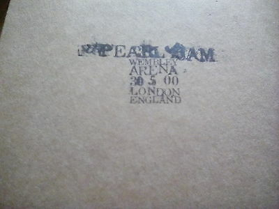 Official Bootleg Pearl Jam 2 Disc CD Live Wembley London England 2000 Tour Gig