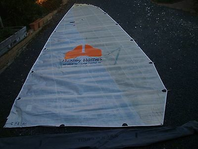 16' skiff mainsail 7.3 x 2.45m 7 battens included 10mm boltrope very good cond