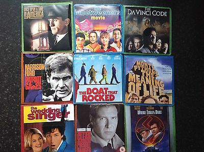 Selection of Classic Dvds,Harrison Ford ,Tom Hanks etc.