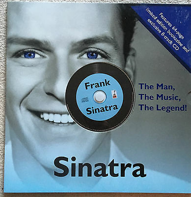 "Frank Sinatra limited edition ""Bookazine"" and CD"