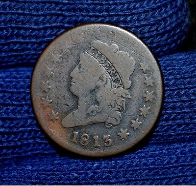 1813 Large Cent**very Good
