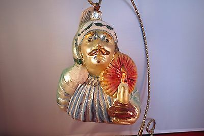 I IN MY CUP Slavic Treasures Retired Glass Christmas Ornament
