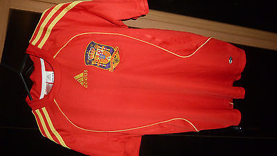 Spain Genuine Quality World Cup Football Shirt Torres Size S