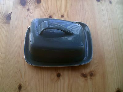 Poole Retro China Large Butter / Cheese Dish