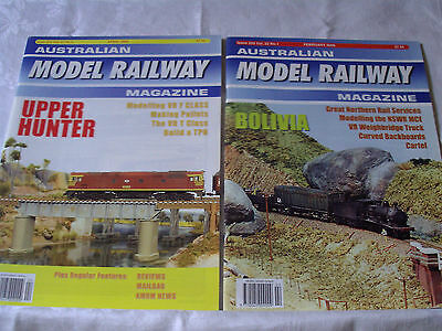 Australian Model Railway Magazine 2005/2006 12 Issues 250 - 261 In Excellent Con