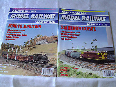 Australian Model Railway Magazine 2007/2008 12 Issues 262 - 273 In Excellent Con