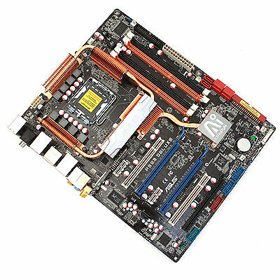 ASUS P5E3 Deluxe AI Lifestyle Series with Intel ICH9R ATX Motherboard LGA775