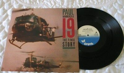 PAUL HARDCASTLE  '19 The Final Story' Great 80's record-see main part