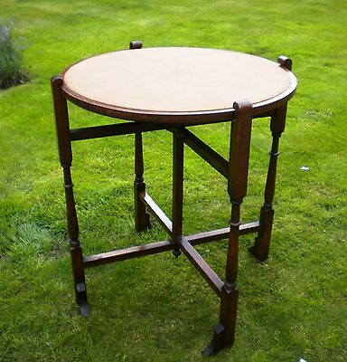 Antique Revertable Card Table