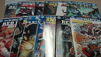 13 comics lot Red hood & the outlaws rebirth issue 1 - 12 +one-shot full run nm