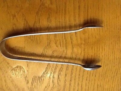 Vintage Silver Plated Tongs
