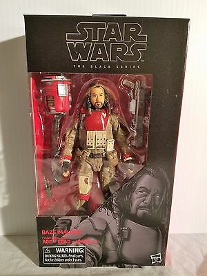 """Star Wars The Black Series Baze Malbus Rogue One 6"""" Inch Action Figure"""