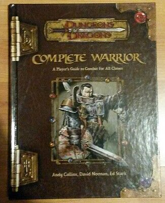 Dungeons and Dragons Complete Warrior 3.5