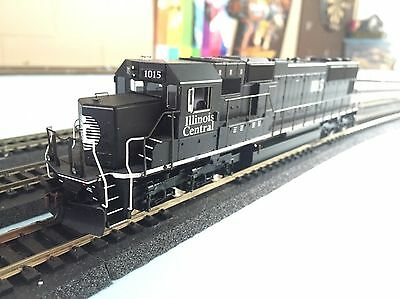 HO Scale Athearn Genesis Illinois Central SD70 DCC Ready