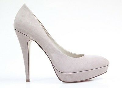 Therapy Shoes-Primrose platform stiletto heels pump -Beige-Brand New-Size 5