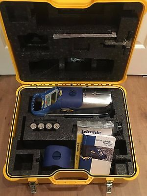 Used Trimble Spectra DG711 Pipe Laser with Remote, Invert Plate & Case