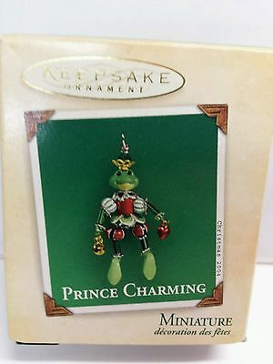 Prince Charming Frog 2004 Miniature Hallmark Keepsake Christmas Ornament