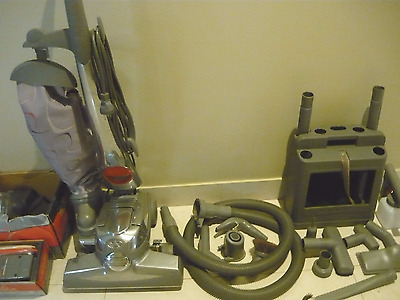 Kirby SentriaG10 Upright Vacuum Cleaner,attachments,shampoo system,turbo access