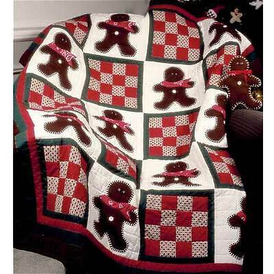 THE EXTRA GINGERMAN QUILT QUILTING PATTERN, From Craft Sisters NEW