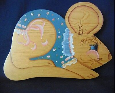 Wooden Mouse Wall Art