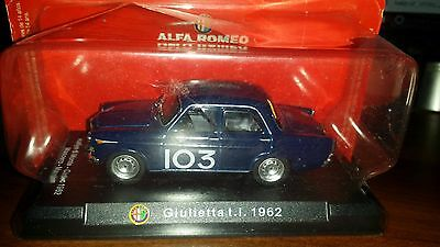 Modellino Alfa Romeo Giulietta T.i (1962) - Sport Collection - Die Cast 1:43