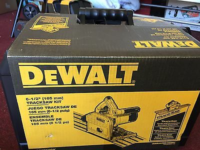 New - Dewalt 6-1/2 in. (165 mm) Track Saw Kit DWS520K