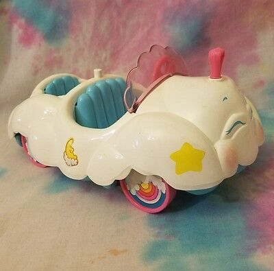 Vintage Care Bears CLOUD CAR Toy Vehicle Kenner AGC 1983