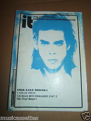 Australian Record Collector Magazine Nick Cave Tamam Shud The Beach Boys