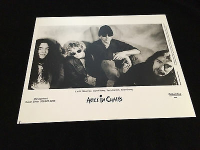 Alice In Chains 1993 Official Original Record Company Publicity Photo